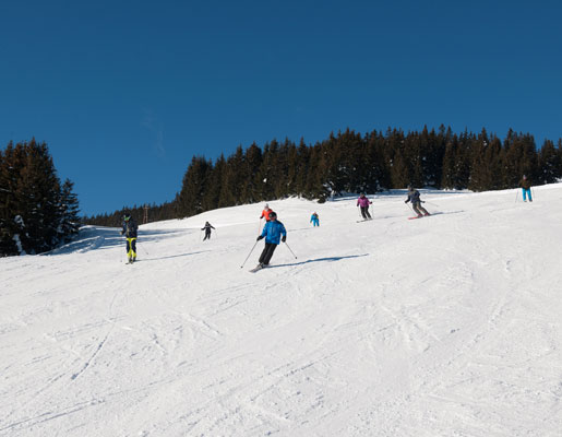 On the ski slope No. 168 to Viehhofen | © viehhofen.at