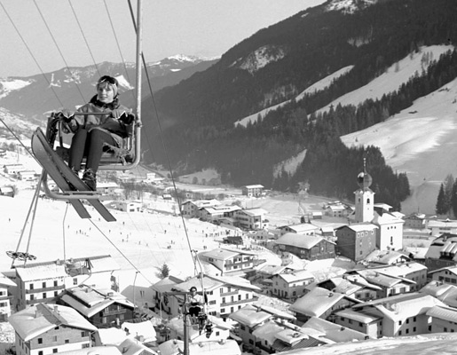 History about skis & emergence of the skicircus Saalbach Hinterglemm Leogang Fieberbrunn