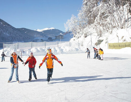 Open-air ice rink in Viehhofen | © viehhofen.at