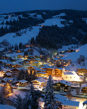 Viehhofen at night | © viehhofen.at, Der Fotoigel